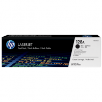 HP 128A Black Dual Pack