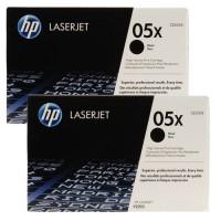 HP 05A Black Dual Pack