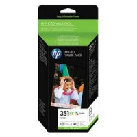 HP 351 XL Photo Value Pack