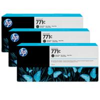 HP 771C Matte Black Tri-Pack