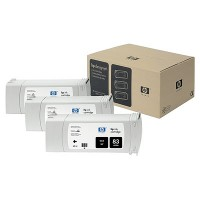 HP 83 UV Black Tri-Pack