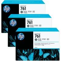 HP 761 Dark Grey Tri-Pack