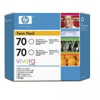 HP 70 Gloss Enhancer Dual Pack