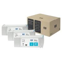 HP 81 Dye Cyan Tri-Pack