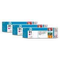 HP 91 Magenta Tri-Pack