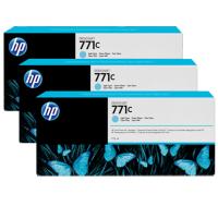 HP 771C Light Cyan Tri-Pack