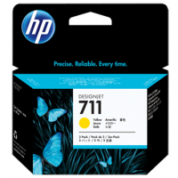 HP 711 Yellow Tri-Pack