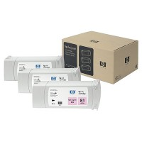 HP 81 Dye Light Magenta Tri-Pack