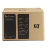 HP 90 XL Yellow Tri-Pack