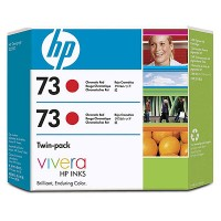 HP 73 XL Chromatic Red Dual Pack