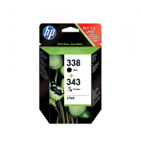 HP 338/343 Combo Pack