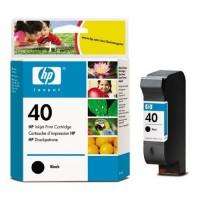 HP 40 Black