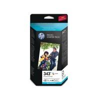 HP 343 + Photo Paper