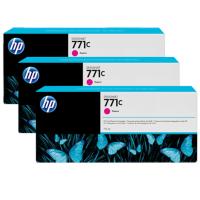 HP 771C Magenta Tri-Pack