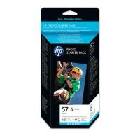 HP 57 + Photo Paper