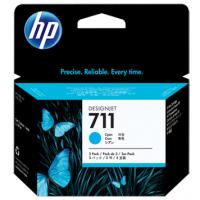 HP 711 Cyan Tri-Pack