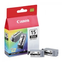 Canon BCI-15 BLK Dual Pack