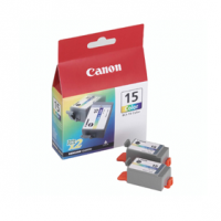 Canon BCI-15 CL Dual Pack