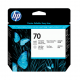 HP 70 Photo Black & Light Grey Printhead